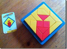 Shape by shape - Schönes Knobelspiel - gut für Logik und räumliche Wahrnehmung