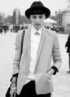 androgynous FAB