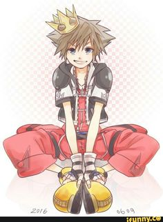 Sora ~ do not be fooled! This dork cold kick your ass if you mess with any of his friends
