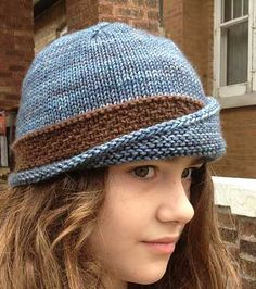 Denysse's lucy #2. Lucy Hat by Carina Spencer. malabrigo Worsted Merino.