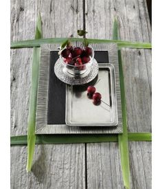 Be the first to review this product Pewter rectangular tray with slate liner cm 26x37  Handcrafted in Italy