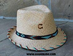 52e6e830834 Charlie 1 Horse Fancy Fedora Wild Bird www.gugonline.com. Lyndsay Butler ·  Hats · San Miguel Navajo Beaded Band Hat.