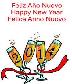 Feliz Año Nuevo - Happy New Year - Felice Anno Nuovo