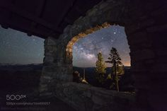 Window To The Universe  I captured this shot up at Glacier Point as I was passing through Yosemite during a night photography road trip.  Capturing the light in the darkness Matt  Camera: Canon EOS 6D Shutter Speed: 30sec ISO/Film: 6400  Image credit: http://ift.tt/2a1dLJW Visit http://ift.tt/1qPHad3 and read how to see the #MilkyWay  #Galaxy #Stars #Nightscape #Astrophotography