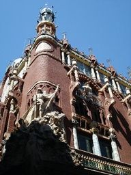 Palace of Catalan in Barcelona