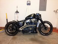Bobber Inspiration — Sportster More bobbers at bobberinspiration.com