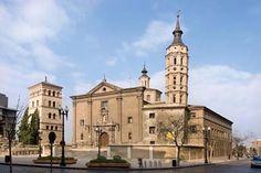 Iglesia de San Juan de los Panetes y Torreón de La Zuda, Zaragoza  Spain