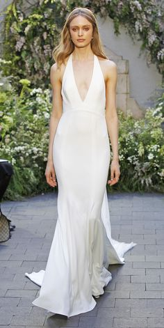 The Prettiest Spring 2017 Wedding Dresses from Bridal Fashion Week - Monique Lhuillier from InStyle.com