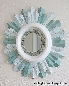 best of 2012 diy project recap, crafts, design d cor, DIY Sunburst Mirror