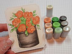 One Krafty Kat: Impression Obsession - Summer Roses