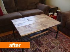 Before & After: IKEA Granas Table Gets a Rustic Makeover
