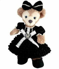Shellie May Handmade Costume Balloon Ruffle Dress Black | eBay