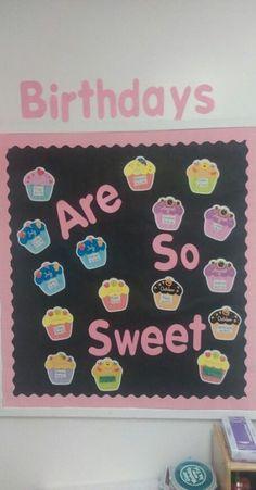 ideas for birthday board classroom preschool ideas kids Birthday Bulletin Boards, Classroom Board, Classroom Bulletin Boards, Classroom Crafts, Classroom Organization, Classroom Ideas, Daycare Crafts, Daycare Ideas, Preschool Birthday Board