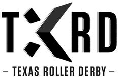 I love logos you have to take a second look at--do you see the star indication between the T & X? | TXRD Lonestar Rollergirls Logo and Identity