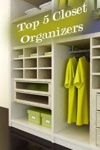 Top 5 Closet Organizers