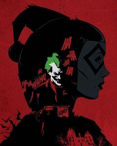 #Comic #DC #batman #joker #gotham #harleyqiueen