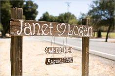 handpainted rustic wood sign