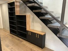 Cabinet Makers, Bookshelves, Stairs, Home Decor, Bookcases, Stairway, Decoration Home, Room Decor, Book Shelves