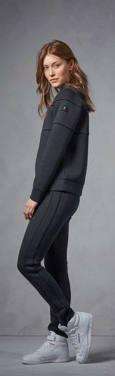 A comfortable sweatpants-look that's sleek enough to wear to the gym or to the store, or even over to a close friend's place? Yes please! These Bogner Fire + Ice sweatpants and sweatshirts are made of innovative athletic materials which give off a smooth, sleek aesthetic, broadening their horizons and making them appropriate for almost any casual occasion – not just private dates with the couch.