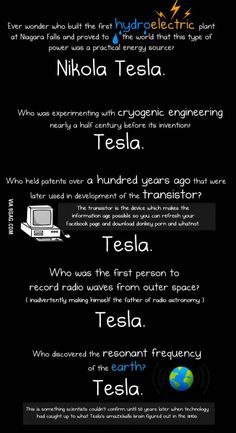 Tesla was pure genius. Edison was a douche...