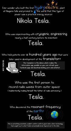 Tesla was pure genius. Edison was a douche...