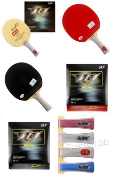 [Visit to Buy] Sanwei (M With 729 General table tennis Rubber With Sponge for one paddle Long Shakehand FL Table Tennis Rubber, Table Tennis Racket, Racquet Sports, Rackets, Paddle