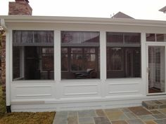 Screen Porch With Vinyl Curtains   Google Search