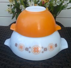 Perfect Pyrex for Fall!