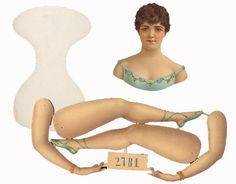 EKDuncan - My Fanciful Muse: Antique Paper Doll - Adelina Patti