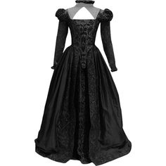 Shakespeare In Love Dress - edited by thestars-themoon ❤ liked on Polyvore featuring dresses and gowns
