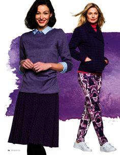 Gezien in... - Satijn Stretch Purple - - bij Textielstad Snelle levering en…