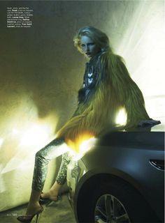 Heat Index   Katrin Thormann   Laurie Bartley #photography   Elle US September 2012