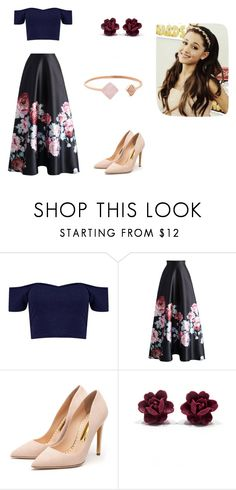 """""""Ariana Grande"""" by fashionista-dxliv on Polyvore featuring Chicwish, Rupert Sanderson, Michael Kors, women's clothing, women, female, woman, misses, juniors and ariana"""
