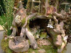 My Dream Dollhouse: The Driftwood Fairy House ~ Julie McLaughlin