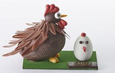 Easter chocolate becomes an extremely creative and competitive art form with practically every chocolate maker and pastry shop here competing to outdo one another! Paris is already a chocolate lov… Easter Chocolate, Chocolate Art, Best Chocolate, Homemade Chocolate, Chocolate Lovers, Chocolate Candy Recipes, Chocolate Treats, Chocolate Showpiece, Cake Models