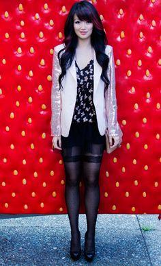 Fashion blogger @Jasmine Ann Zhu is a Wantering Trendsetter blog.wantering.com