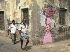 Globe-Painter – Le street art coloré de SETH