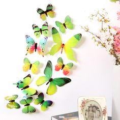 Butterfly Sticker Art Design Decal Wall Decals Kids Home Decor Magnet for sale online Decoration Stickers, Wall Stickers Home Decor, Room Decorations, Decor Room, Window Stickers, Art Decor, Nursery Decor, Bedroom Stickers, Wallpaper Stickers