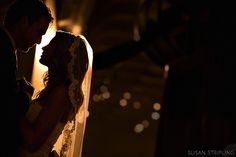 Snapshot Sunday - Behind The Veil - Polka Dot Bride