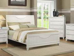 Shop Alyssa White Master Bedroom Set with great price, The Classy Home Furniture has the best selection of Master Bedrooms to choose from Master Bedroom Set, White Bedroom Set, 5 Piece Bedroom Set, Bedroom Sets, Bedrooms, Queen Bedroom, Queen Headboard, Queen Size Bed Sets, Queen Size Bedding