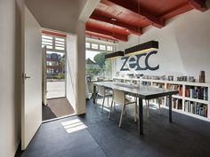 The office was designed by Zecc Architects themselves and is surely a great environment to work with clients.