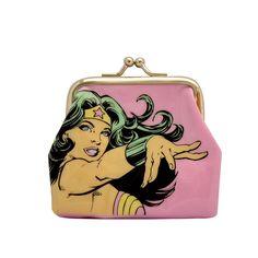 Porta Moedas Mulher Maravilha Power #Wonderwoman #Mulhermaravilha #LojaDCComics