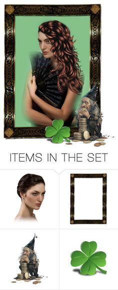 """""""Irish Princess..."""" by marvy1 ❤ liked on Polyvore featuring art"""