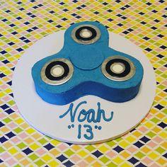 fidget spinner cake cakes pinterest motivtorten. Black Bedroom Furniture Sets. Home Design Ideas