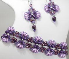 Flutter Bracelet and Earrings