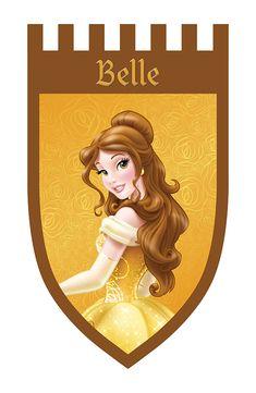 World of Disney Princess Graphics on Behance Disney Princess Birthday Party, Disney Princess Fashion, Disney Princess Quotes, Disney Princess Belle, Disney Princess Pictures, Beauty And Beast Birthday, Beauty And The Beast Theme, Disney Beauty And The Beast, Princesa Disney Bella