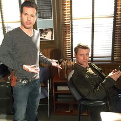 Jon Seda (Antonio) from Chicago P.D. and Jesse Spencer (Casey) from Chicago Fire
