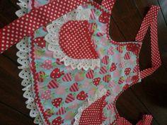 Girls pretty apron