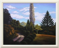 Dick Frizzell - Orinoco Driveway II (2014) Nz Art, Canvases, New Zealand, Paintings, Artists, Landscape, Scenery, Paint, Painting Art