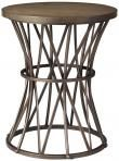 Weathered Oak Amber Accent Table - Accent Tables - Living Room - Furniture $109. HomeDecorators.com